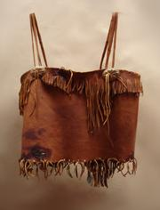 deer Leather camisole